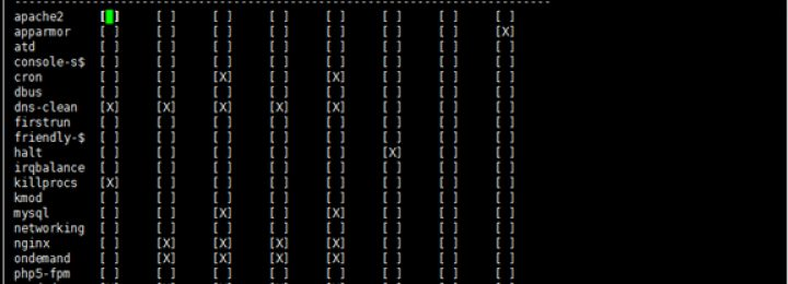 sysv-rc-conf管理Ubuntu Server开机启动服务