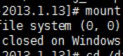 CentOS提示::unknown filesystem type 'ntfs'.解决