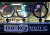 精彩设计:LED让自行车轮成为动画屏幕