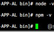 centos用 yum 方式安装 nodejs 和 npm