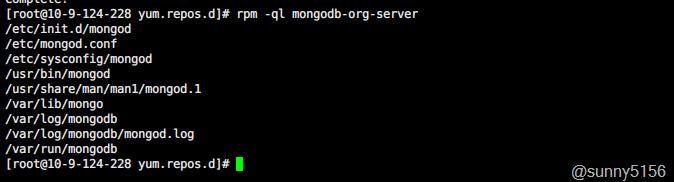 CentOS 7 yum方式快速安装MongoDB