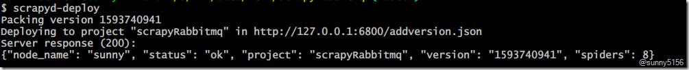 Scrapyd部署爬虫项目 - 第3张    技术人生-孙强